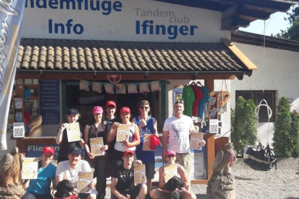 Company flights with Tandemclub Ifinger South Tyrol